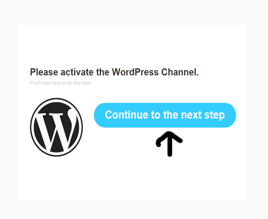 wordpress-continue-ifttt