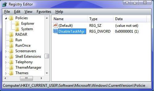 Cara mengaktifkan task manager di warnet