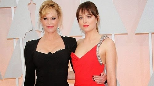 Oscars-2015-Dakota-Johnson-Snaps-at-Mom-Melanie-Griffith-Video