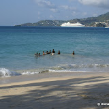 Boys on Grand Anse Beach