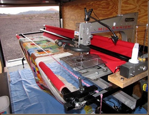 2012 quilting machine