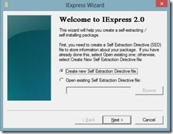 iexpress interface