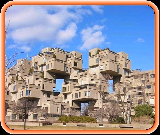 Strange apartment building