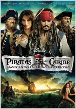 PIRATAS DO CARIBE 4 (Navegando em Águas Misteriosas) - Download de Filmes -Aventura dual-áudio dublado português 2011 – DVD-Rip