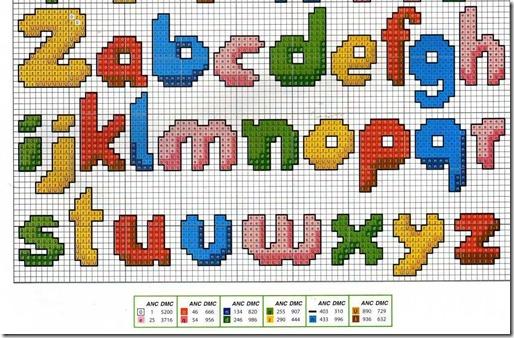 alfabeto ponto cruz 1
