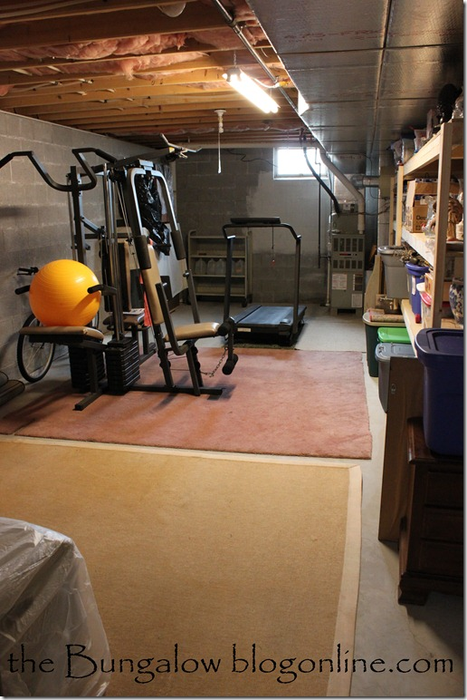 basement space