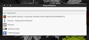 Fuzzy Window Switcher in Ubuntu Linux