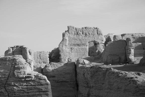 Turfan - Ruines de Jiaohe 8