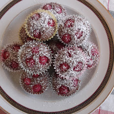 Chocolate-Raspberries and Browned Butter Financiers