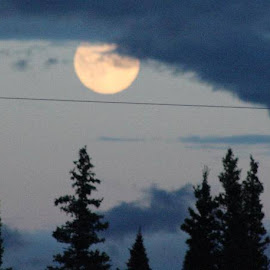 Supermoon July 2014 by Jim Dicken - News & Events Science