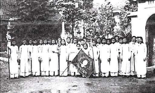 Đoàn Thiếu Nữ GĐPT Minh Tâm (chùa Quán Sứ) - 1952