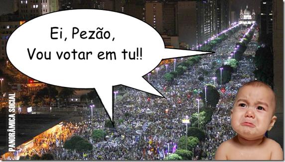 Pezão protestos de junho