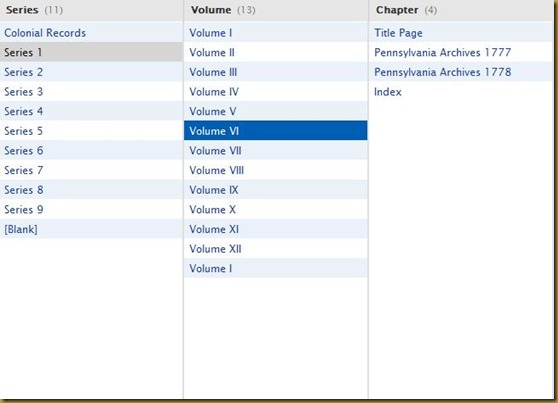 Pennsylvania Archives, Colonial Records, Series I, Volume VI