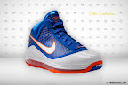 nike air max lebron 7 pe hardwood blue 5 01 Yet Another Hardwood Classic / New York Knicks Nike LeBron VII