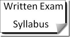 union bank of India SO written exam Syllabus