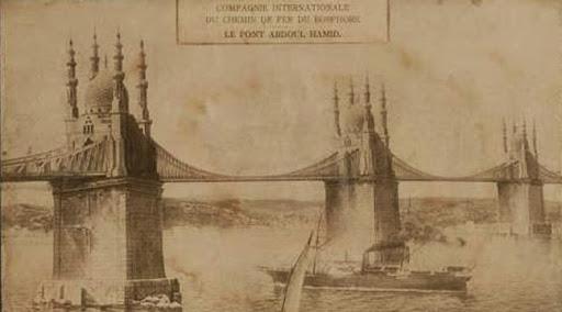 Puente sobre el bósforo en época Otomana