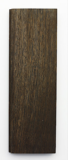 A plainsawn plank with 1 bleach application.