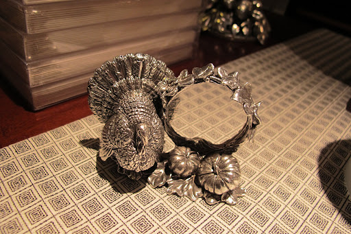 and this napkin holder is so intricate.