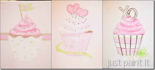 paint cupcakes 22