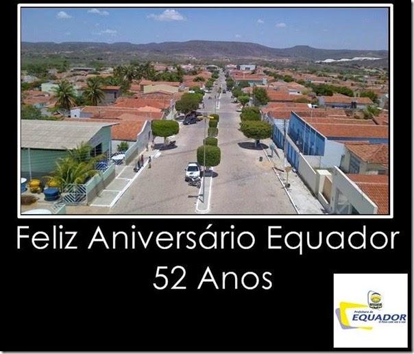 equador 52 anos