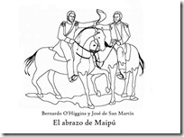 el abrazo de maipu 1