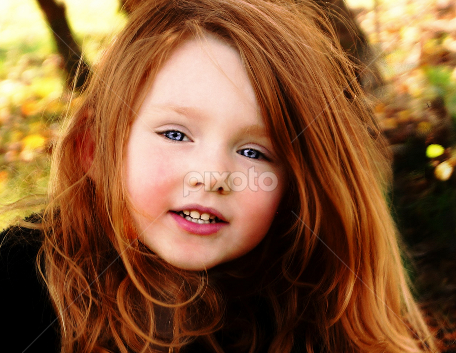 Hair Aflow by Cheryl Korotky - Babies & Children Child Portraits (  )