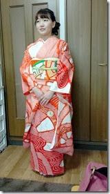 着付師 太田さんが、ご自宅に出張着付け (2)