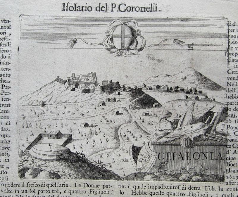 Σπάνιες εικόνες της Κεφαλονιάς του 1696