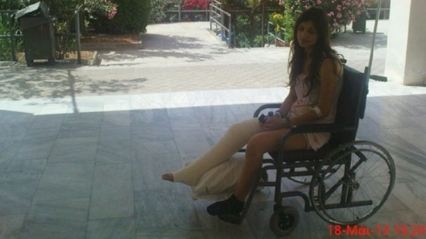 Η Χριστίνα μιλάει στο mykefalonia  για το ατύχημά της…