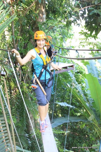 Flying Hanuman Phuket (Полет гиббона на Пхукете)