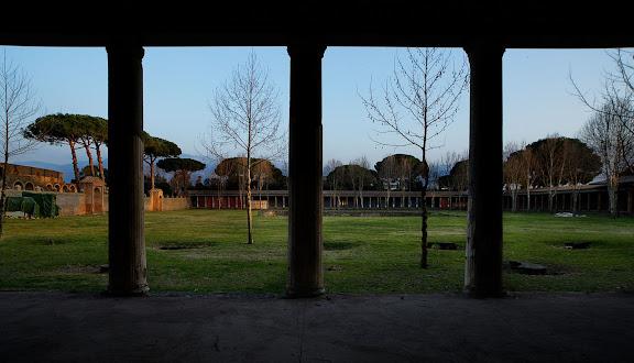 Antigua ciudad romana de Pompeia. La gran. Pompeia, Itàlia