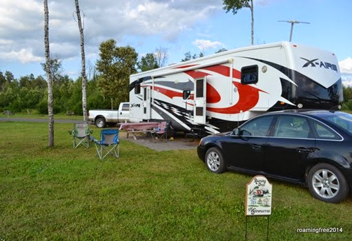 Country Village RV Park -- site 93