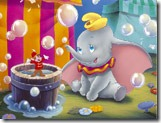 Quebra-cabeça do Dumbo no circo