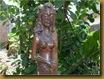 Patung putri duyung - kepala