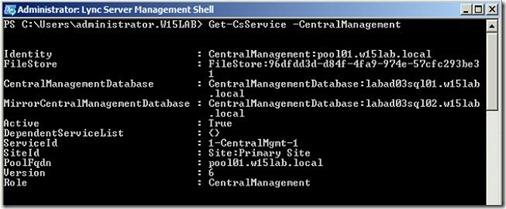 Lync 2013 - SQL M failover - get-csservice
