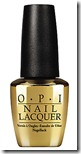 OPI Man with the Golden Gun Top Coat