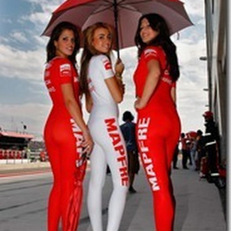 Foto Paddock Girls MotoGP Aragon 2011 (1)