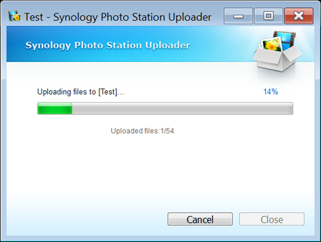 Photo Station Uploader is interesting but file copy works just as well
