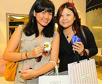 Lulu Guinness Singapore launch
