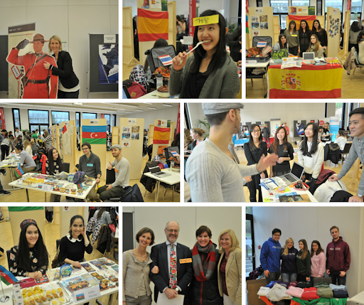 Lots of facts about other cultures, infos about host universities, little snacks and games – that was the IMC Exchange Students' Fair 2014. To all our incoming exchange students: Thanks a lot for sharing all those insights. We had a truly great and very informative time! Feel free to tag. #imcinternational