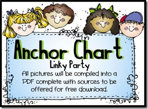 Anchor Chart Linky Party