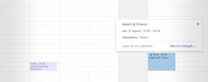 Google Calendar - Calendario Serie A