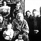 Отец Гавриил с матушкой и родственниками в Очакове. 1898 г.