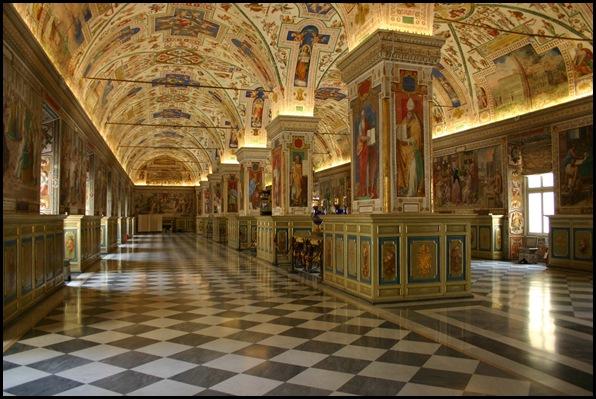 Bibliothèque du Vatican, citée du Vatican-1