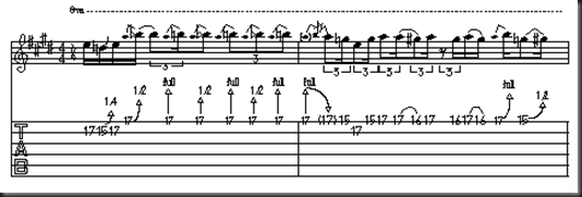 led zeppelin tablatura escala pentatonicaa solos