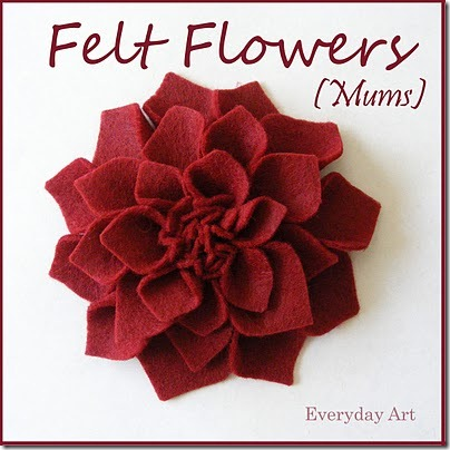Displaying (20) Gallery Images For Printable Felt Flower Pattern...
