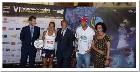 Valladolid ya disfruta del mejor pádel del mundo: Bwin PPT Internacionales Valladolid 2011.