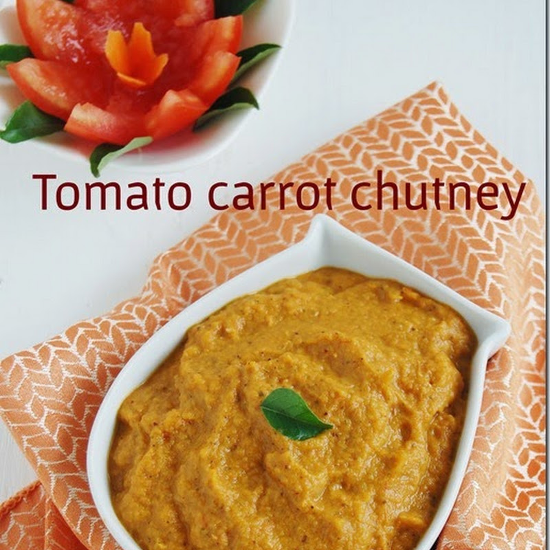 Tomato carrot chutney