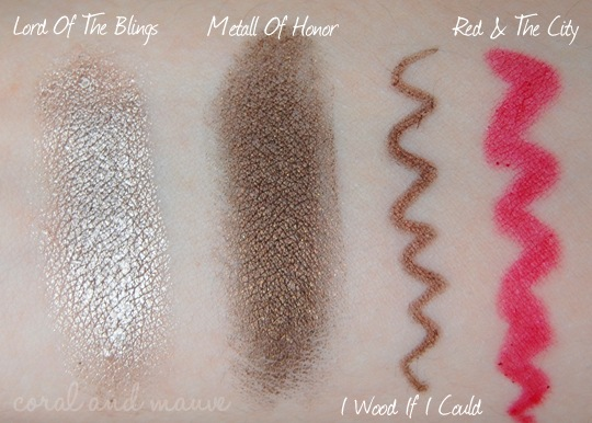 Catrice Modern Muse Swatches