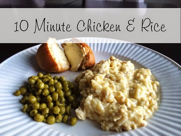 Quick & Easy Chicken and Rice